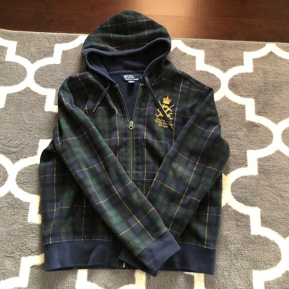 baee8aed4 Polo Ralph Lauren Plaid Sweatshirt. M 5acce3bb84b5ce6705638a92